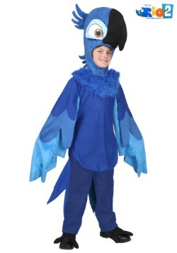 Disfraz de Blu de Río para niños