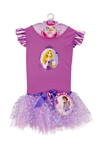 Vestido de ballet de Rapunzel