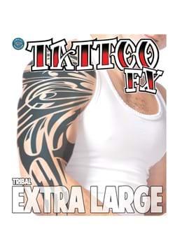 Tatuaje temporal tribal extra grande