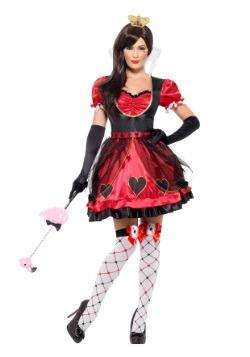 Disfraz Queen of Wonderland para mujer