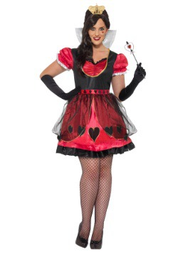 Disfraz Reina de Wonderland talla extra