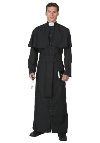 Disfraz de sacerdote deluxe