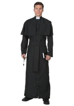 Disfraz de sacerdote deluxe talla extra