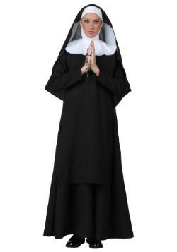 Disfraz de monja deluxe talla extra
