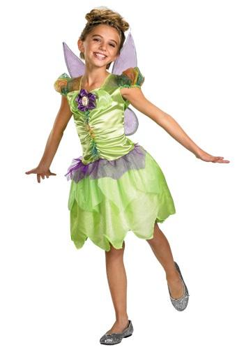 Disfraz de arcoiris para niña Tinkerbell