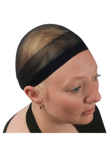 Gorra de peluca negra