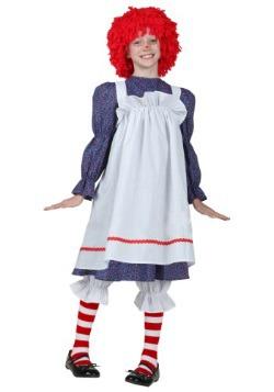 Disfraz infantil de muñeca de trapo