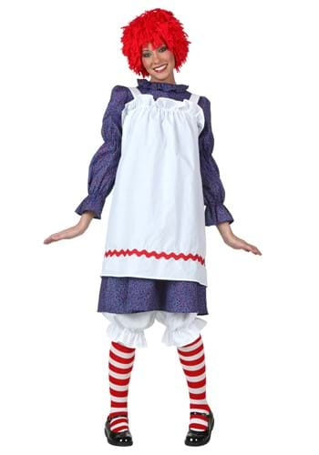 Disfraz de muñeca de trapo para adulto