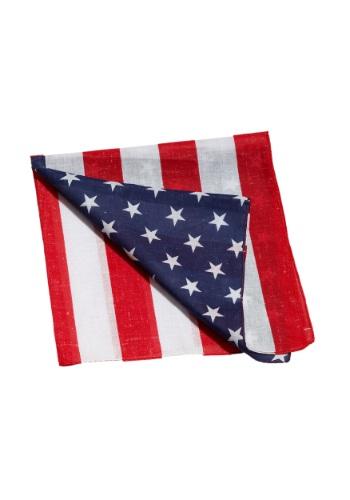 Bandana de bandera estadounidense