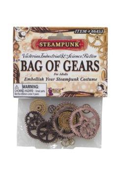 Bolsa de engranes Steampunk