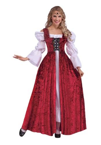 Vestido de encaje medieval para mujer de talla grande