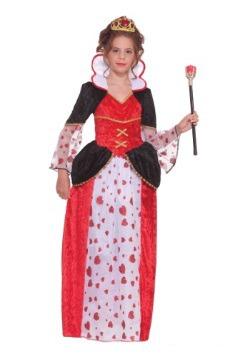 Disfraz de Reina de Corazones para niñas