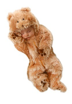 Traje de bebé oso Snuggle