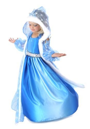 Icelyn, el disfraz de princesa de invierno