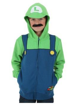 Sudadera de Luigi de Super Mario para niño
