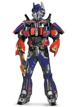 Disfraz auténtico de Optimus Prime para adulto