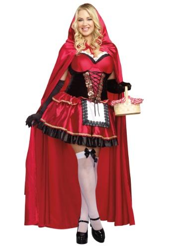 Disfraz rojo para mujer talla grande