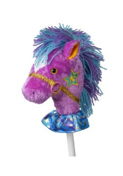 "Caballo de palo 33"" Pony cabriolero elegante"
