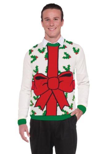 Todo el suéter de Chistmas envuelto