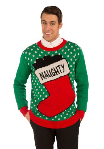 Suéter naughty navideño