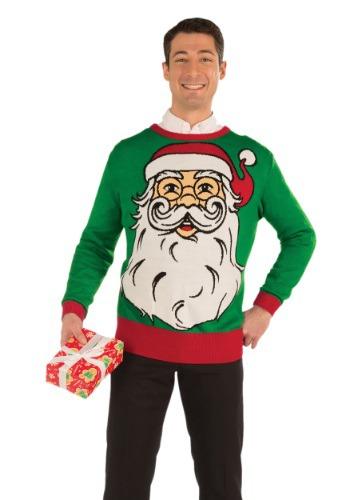 Suéter de Navidad Santa