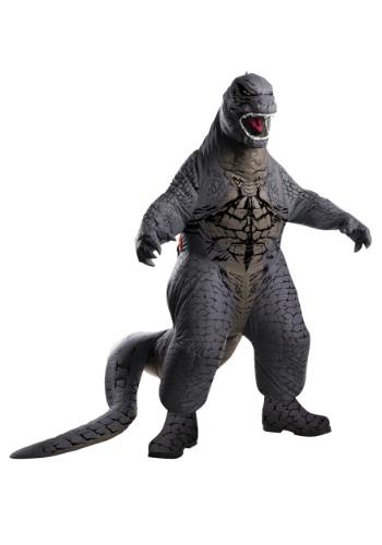 Disfraz inflable infantil de Godzilla de lujo