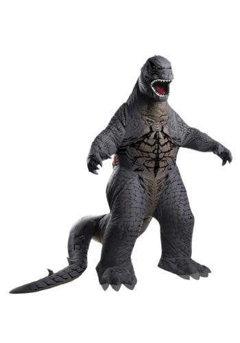 Disfraz inflable de Godzilla para adulto de lujo