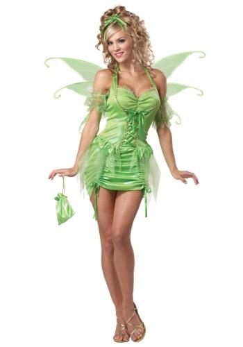 Disfraz de hada Tinkerbell para mujer talla grande