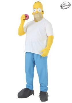 Disfraz de Homero Simpson de Los Simpson talla extra