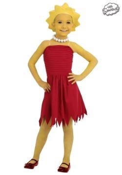 Disfraz infantil de Lisa Simpson
