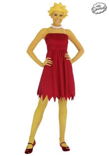 Disfraz de Lisa Simpson para adulto