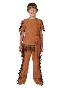 Disfraz infantil de nativo americano