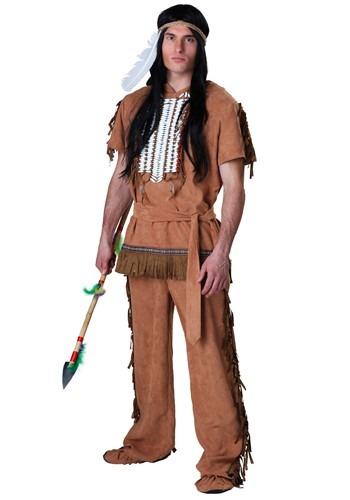 Disfraz americano nativo talla extra