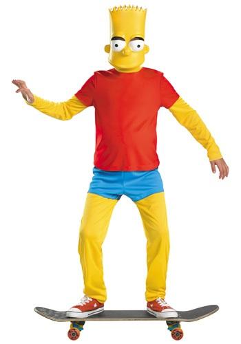 Disfraz de Bart Simpson deluxe para niños