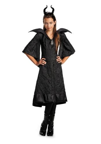 Vestido clásico de Maléfica para niñas
