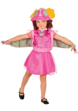 Disfraz infantil de Skye de Paw Patrol