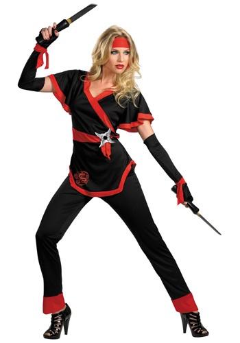 Disfraz de mujer dragón Ninja