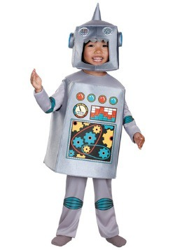 Disfraz de robot retro para niños pequeños
