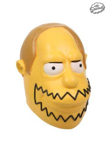 Máscara del tipo de las historietas de Los Simpson