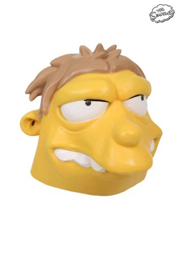Máscara de Barney de Los Simpson
