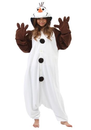 Disfraz de pijama de Olaf para adulto