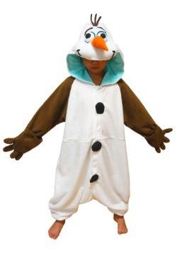 Disfraz de pijama de Olaf para niños