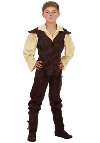 Disfraz infantil de escudero renacentista