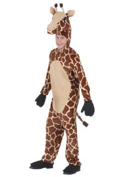 Disfraz de terciopelo de jirafa para adulto