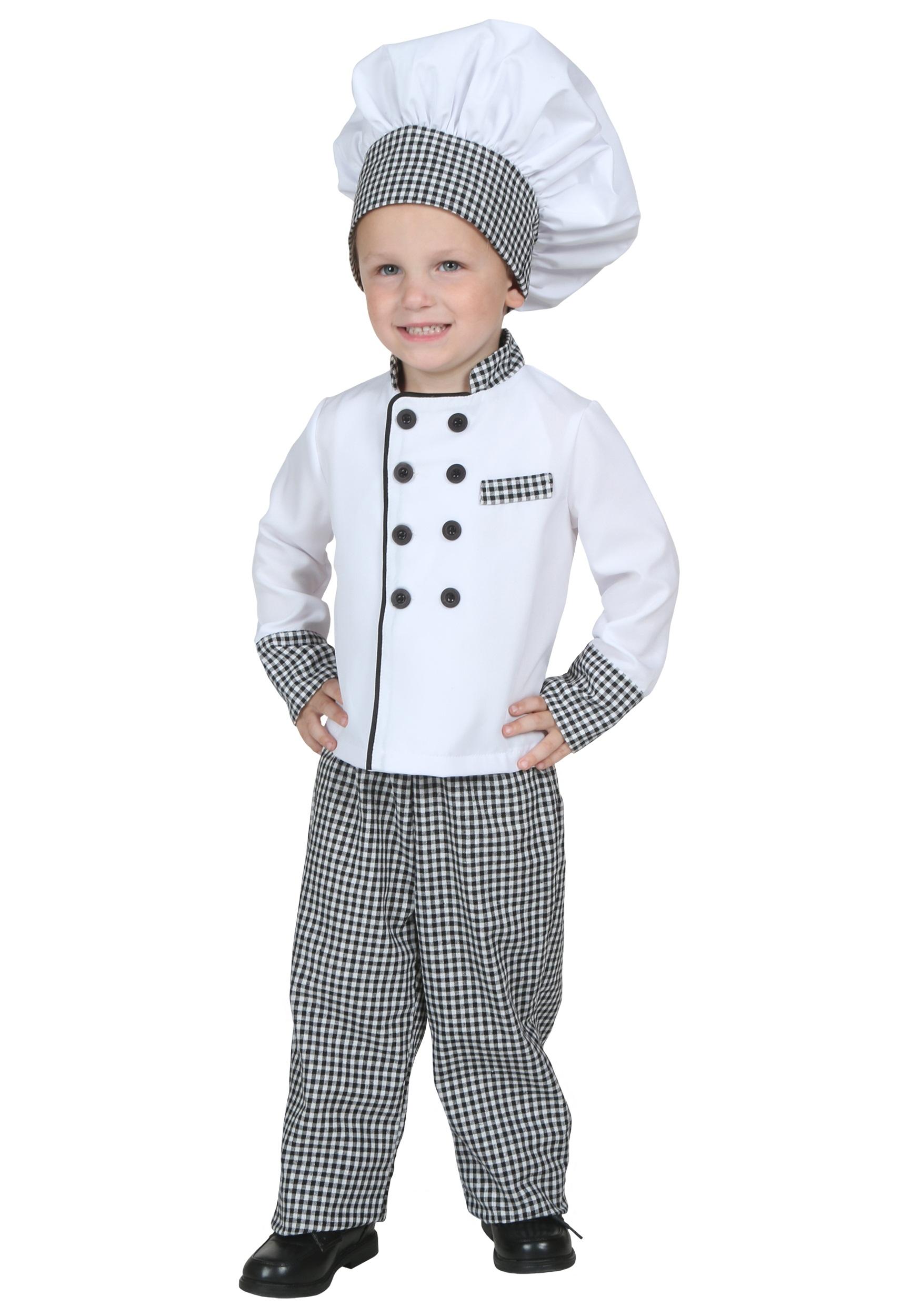 7d1e6485f4a Disfraz de chef para niños pequeños