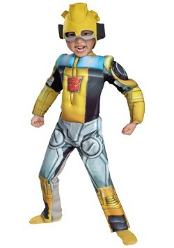 Disfraz de bot de rescate Bumblebee para niños pequeños