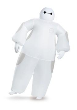 Disfraz inflable Baymax blanco para adulto