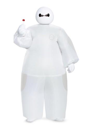 Disfraz inflable de Baymax de Big Hero 6 para niño, blanco