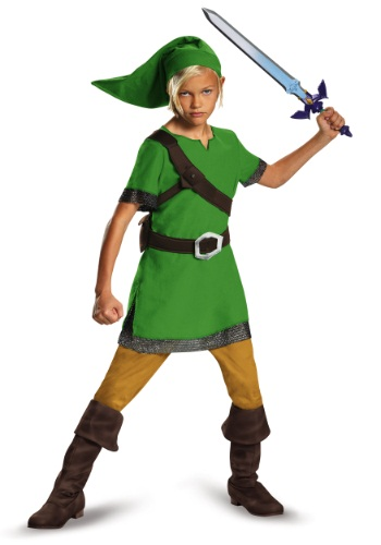 Disfraz de Link de Legend Of Zelda para niño