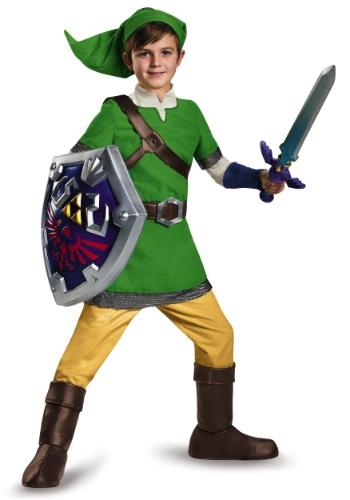 Disfraz de lujo de Link para niños